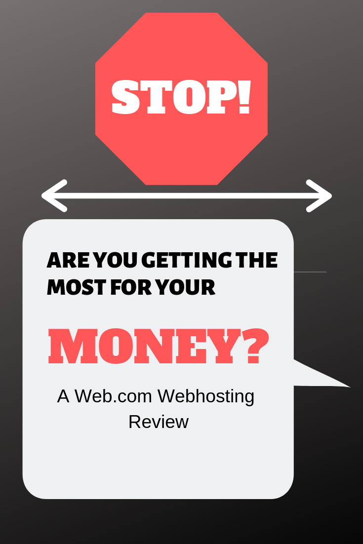 Are you Getting What You Pay For At Web.com?