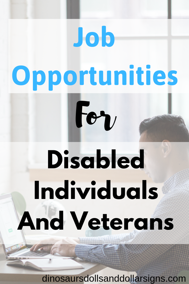 Job Opportunities For Disabled Veterans