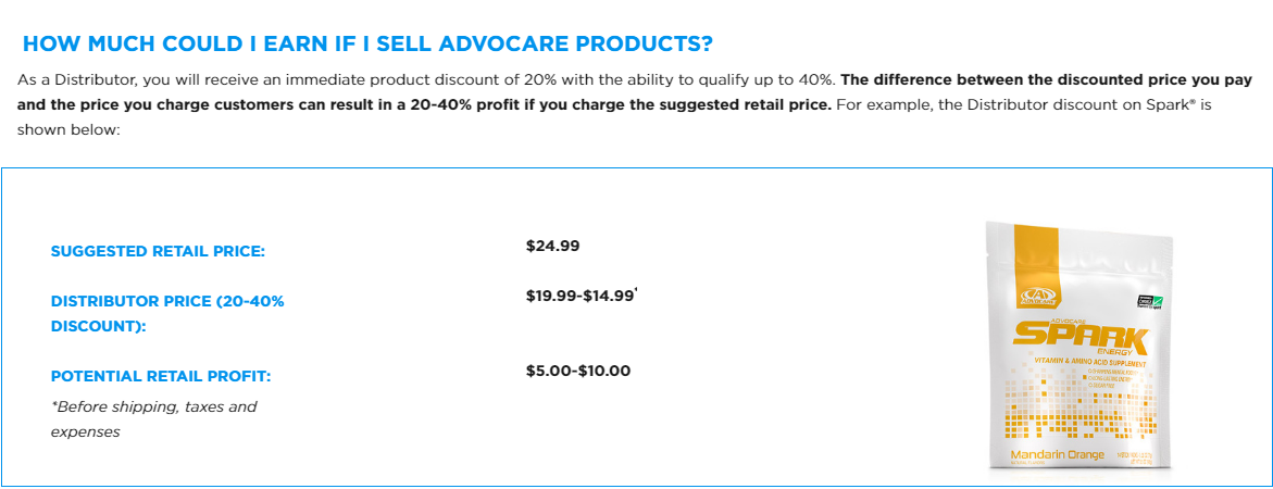 How Much Can You Make With AdvoCare