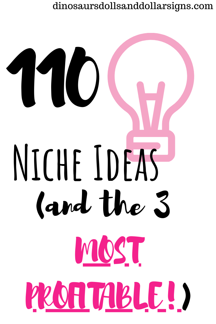 110 Niche Ideas List